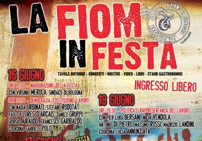 110 anni di Fiom, festa a Bologna