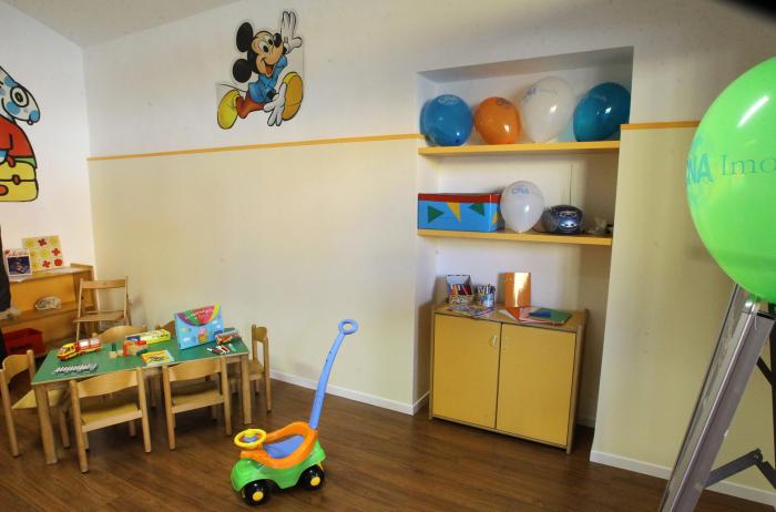 Un luogo ricreativo per i bambini in centro storico