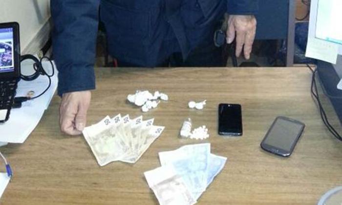 Arrestato uno spacciatore di cocaina