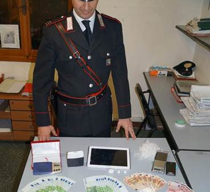 Arrestato per cocaina dopo una fuga in auto