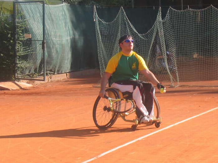 Il tennis in carrozzina, uno sport fantastico