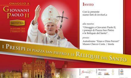 In mostra le reliquie di Papa Giovanni Paolo II