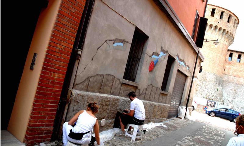 Muro Dipinto, il momento di restauri e conservazione