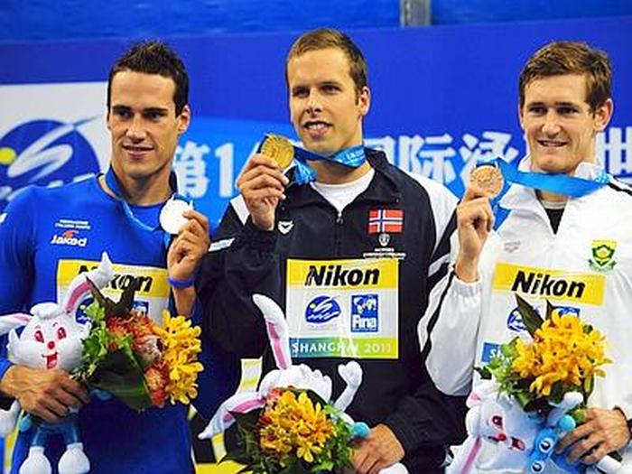 Nuoto: argento di Scozzoli, le congratulazioni delle autorità