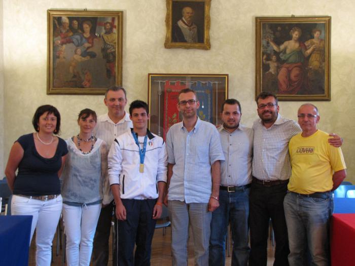 Alberto Rontini incontra il sindaco castellano