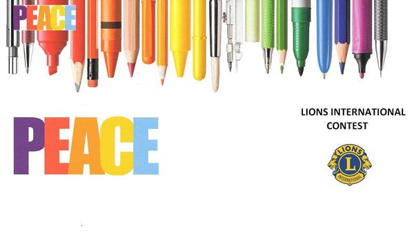 Un concorso per creare la pace e la solidarietà grazie ai Lions
