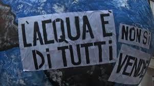 """Acqua: """"La cancellazione della gestione autonoma dei Comuni porta alla privatizzazione"""""""