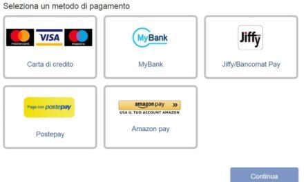 La bolletta di Hera pagabile con Amazon pay
