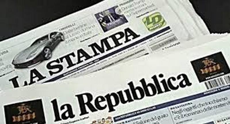 Stampa e Repubblica,  il matrimonio dell'anno