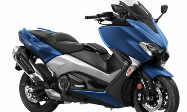 Valentino Rossi e il nuovo Yamaha Tmax