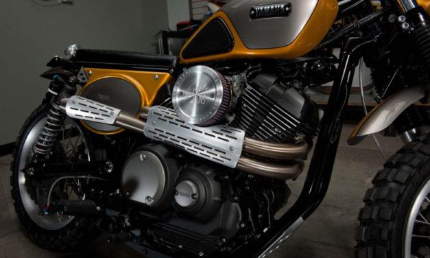 Yamaha, ecco la nuova Yard Built SCR950