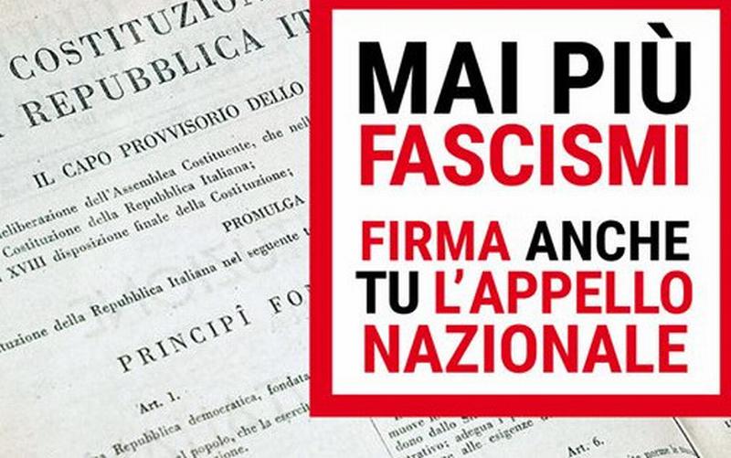 Manifestazione a Roma contro fascismi e razzismi