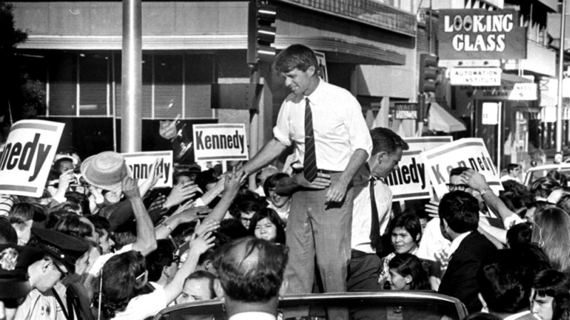 5 giugno 1968: cinquanta anni fa veniva assassinato Bob Kennedy