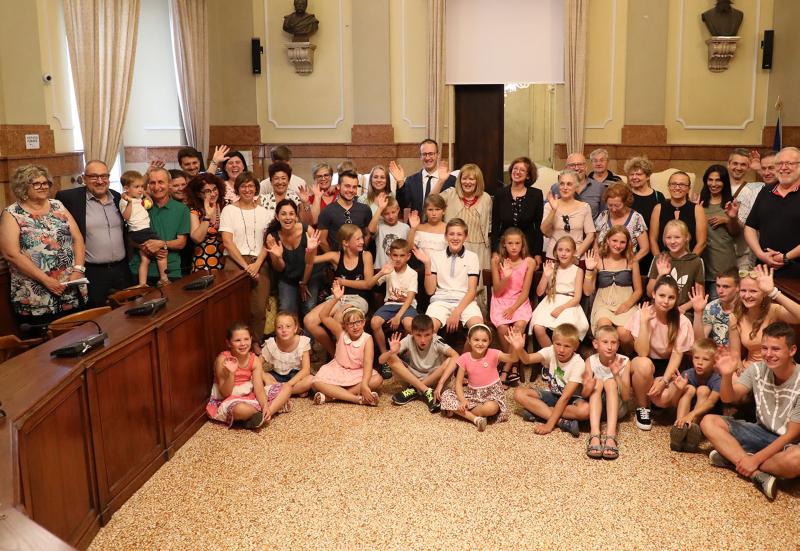 Sono 34 i bambini di Chernobyl accolti: il saluto della sindaca Sangiorgi