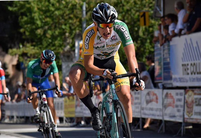 Ciclismo, ai campionati italiani Allievi un Matteo Montefiori in gran forma