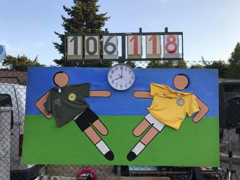 Calcio, una maratona di 24 ore a Toscanella