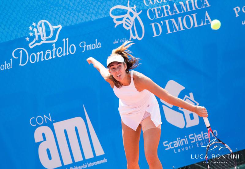 Internazionali femminili di tennis, finale fra Reix e Rubini davanti a Pietrangeli