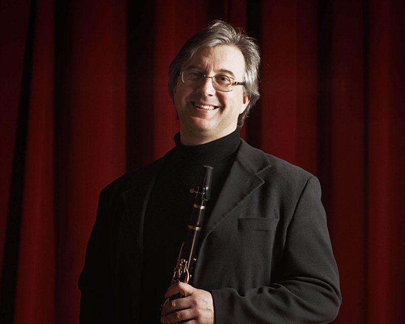 Il clarinettista Claudio Mansutti a palazzo Tozzoni per i 130 anni della Croce Rossa
