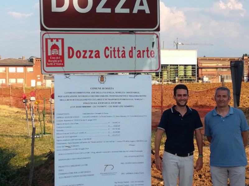 Al via i lavori della pista ciclabile Toscanella – Castel San Pietro Terme