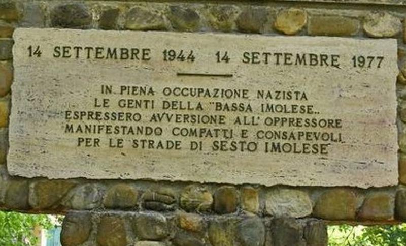 Sesto Imolese ricorda i fatti del settembre 1944