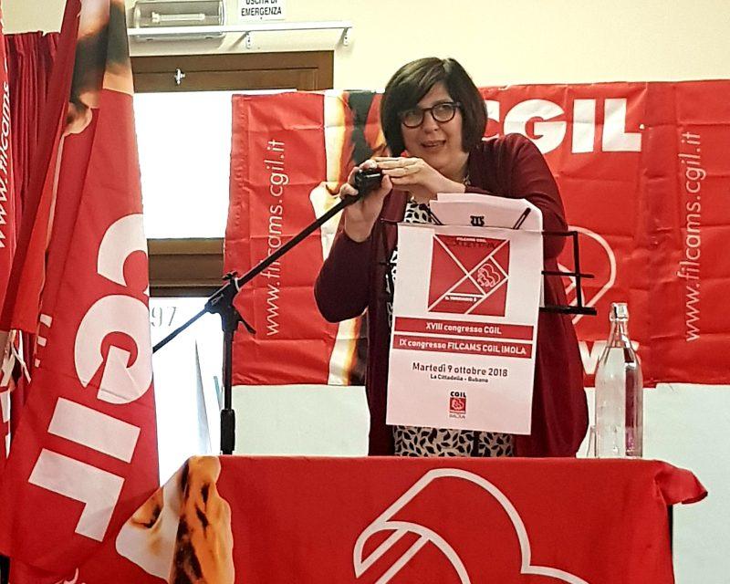 Congresso Cgil, Morena Visani confermata alla guida della Filcams