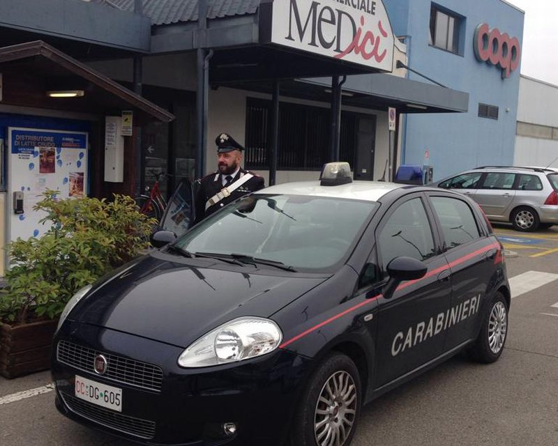 Furto di abbigliamento per centinaia di euro, arrestato un 29enne