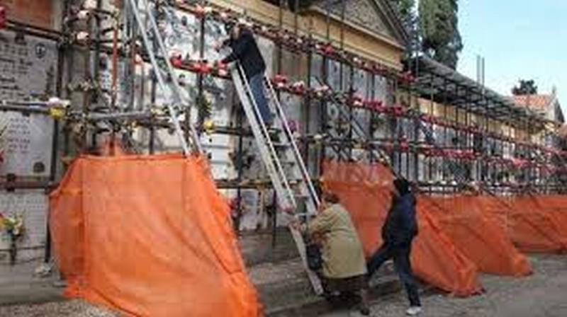 Cimiteri: sono 11 gli interventi per 220mila euro nel 2018 e all'inizio del 2019