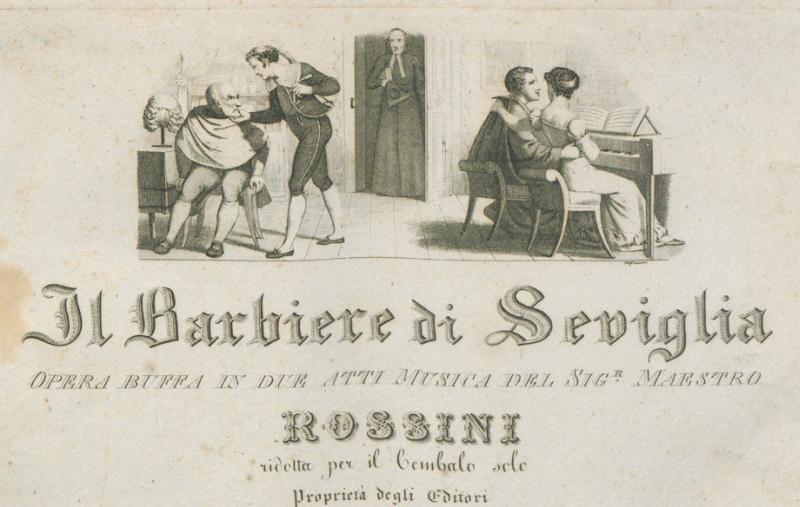 """""""Il barbiere di Siviglia"""" in video nel Ridotto del teatro Stignani"""