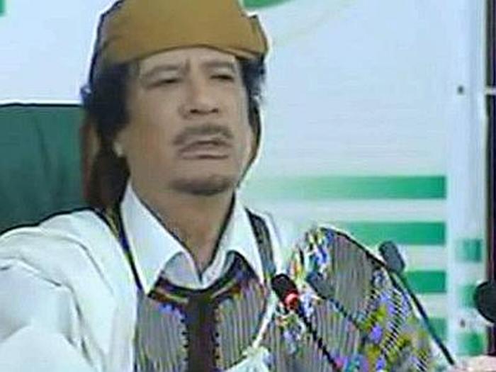 Confermata la morte di Gheddafi