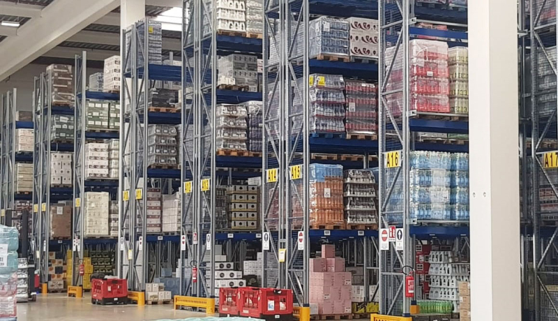 Inaugurazione di nuovo magazzino di logistica di 10mila mq con 36 lavoratori