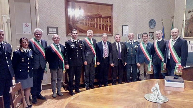 Il nuovo prefetto di Ravenna incontra i sindaci dell'Unione