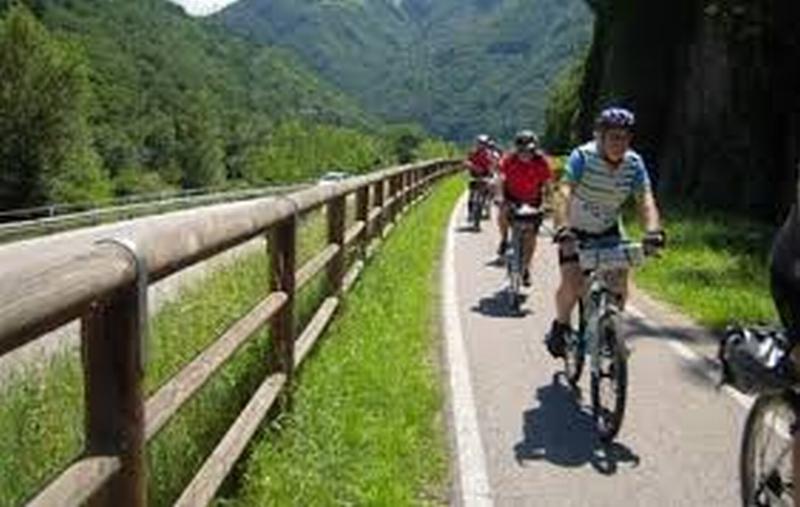 La pista ciclabile Mordano – Castel del Rio ora si trova ai nastri di partenza
