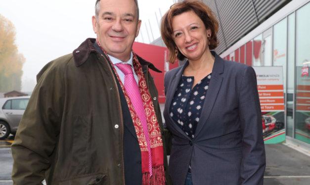 L'ambasciatore d'Argentina in Italia visita il Mic a Faenza e l'autodromo a Imola