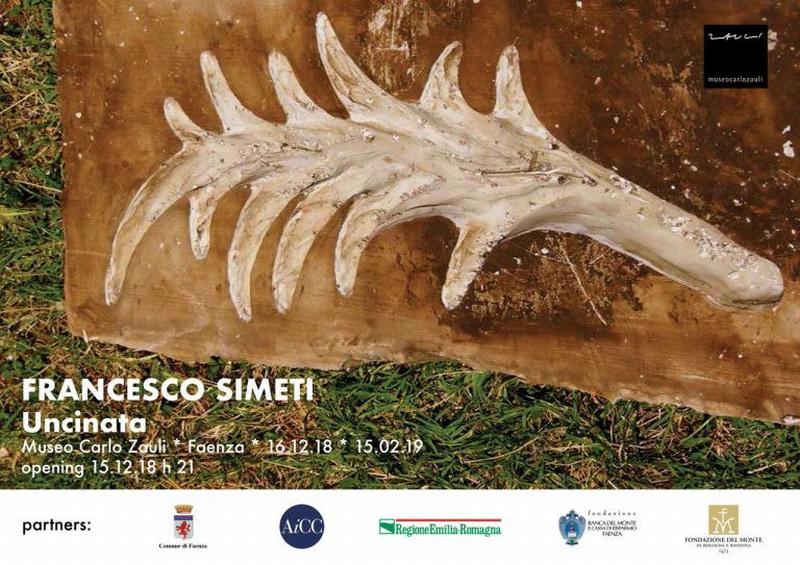 L'artista Francesco Simeti presenta la sua arte al museo Zauli
