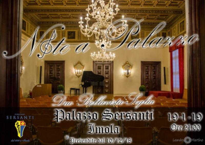 """""""Note a Palazzo"""", un progetto artistico del Sersanti"""