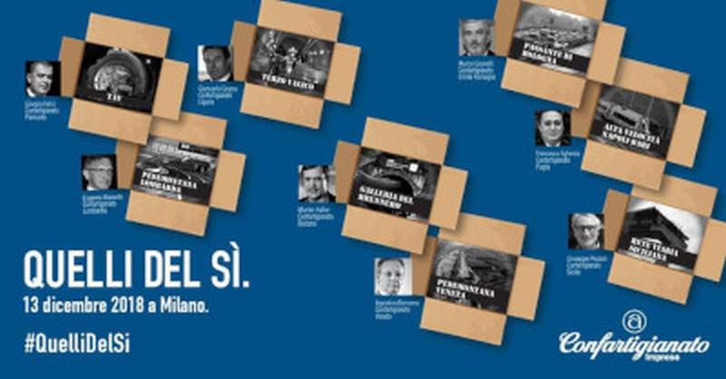 A Milano per il Si al futuro dell'Italia