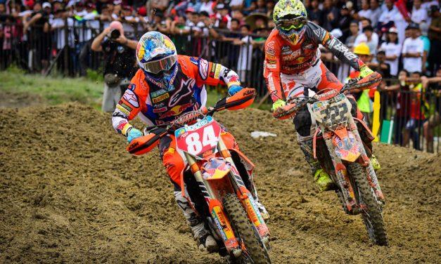 Mondiale di Motocross nel calendario provvisorio vicino a Ferragosto