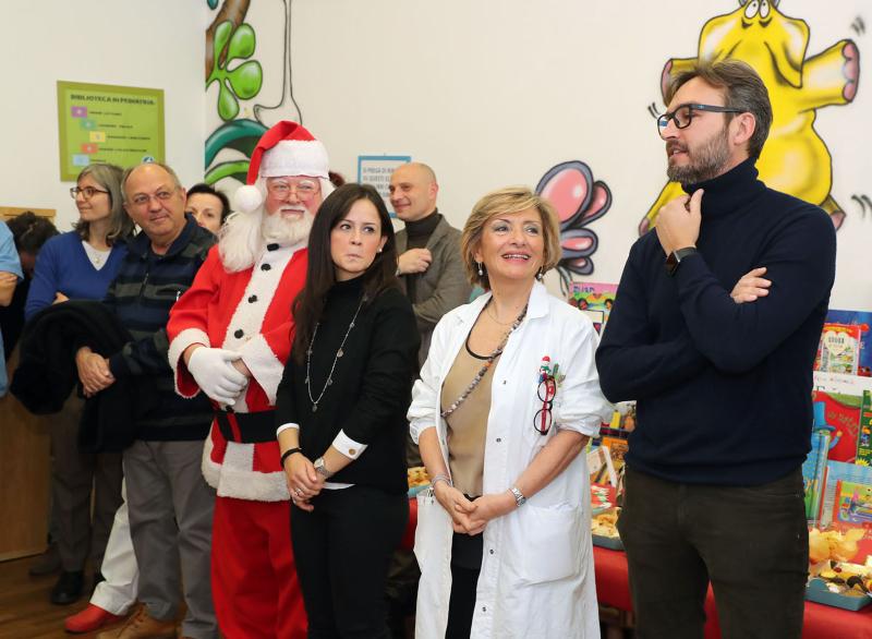 Inaugurato e riammodernato il reparto di Pedriatria all'ospedale Nuovo