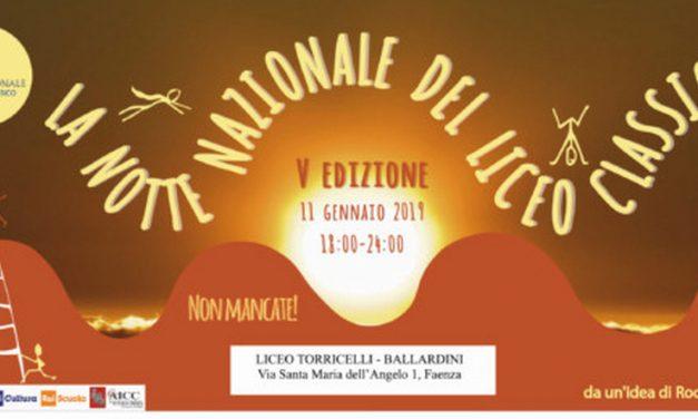"""Notte bianca del Liceo classico """"Torricelli -Ballardini"""""""