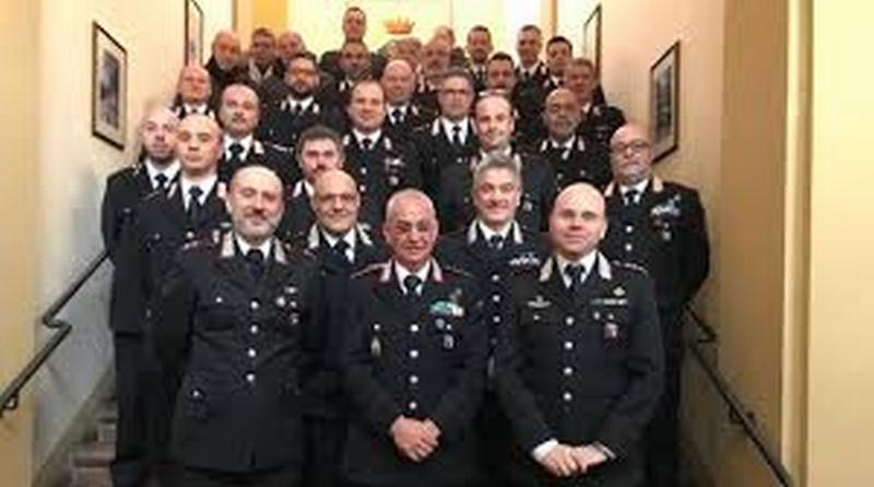 """Il """"maresciallo Bruno"""", dopo 40 anni come carabiniere, va in pensione"""