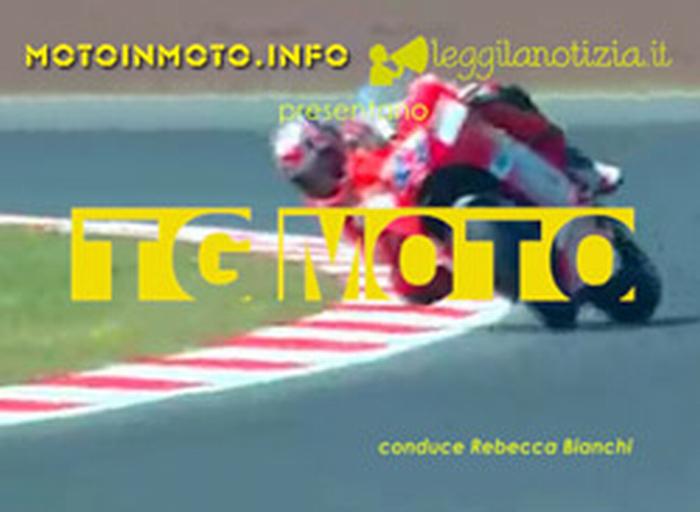 Tgmoto, video news dal mondo delle moto