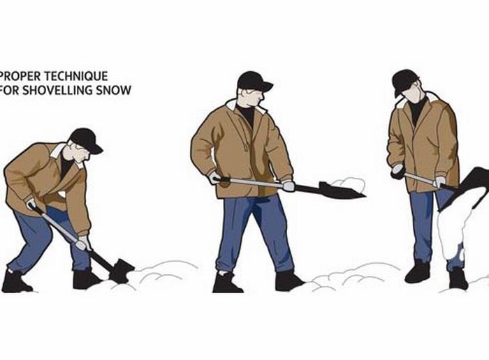 Emergenza neve senza mal di schiena