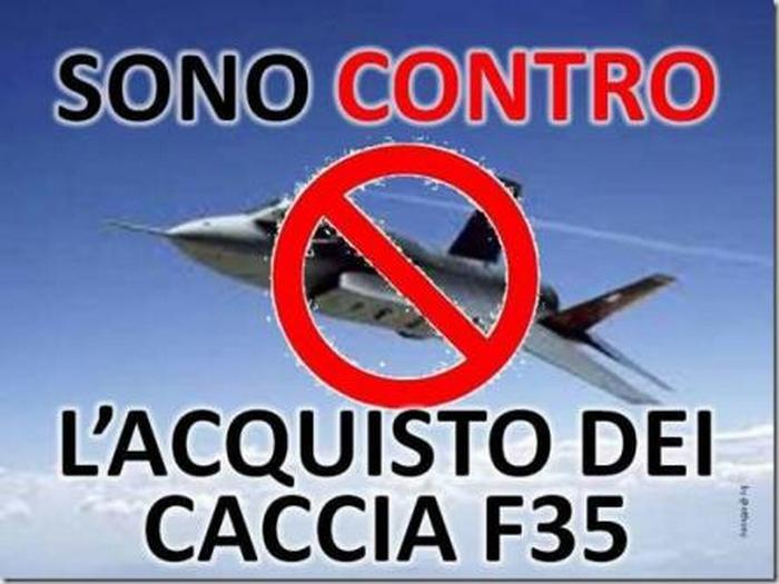 Giornata di mobilitazione contro gli F-35