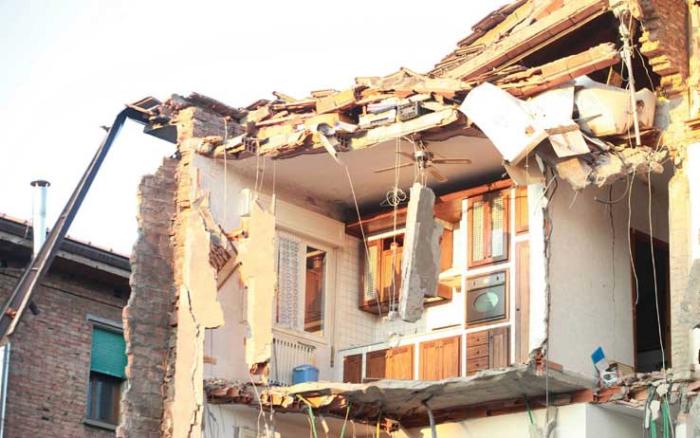 Terremoto: pericolo amianto