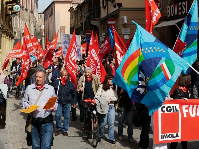 Un 6 maggio di lotta per la Cgil