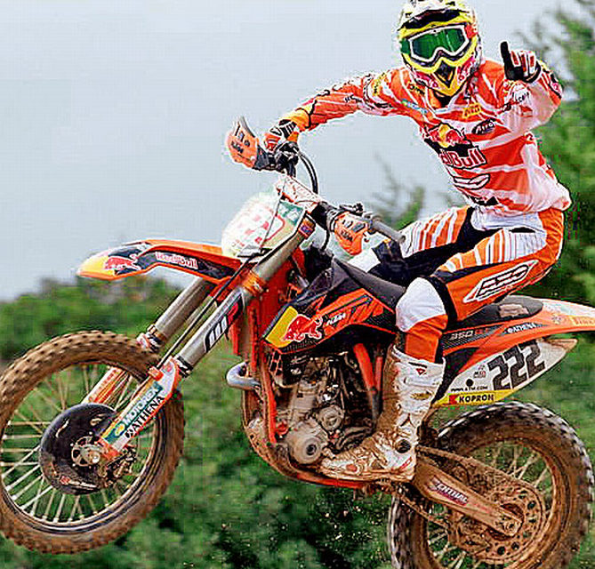 Tony Cairoli, il Motocross all'italiana