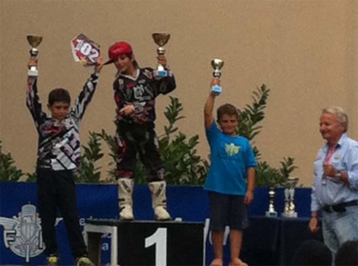 L'imolese Zampino campione regionale di motocross