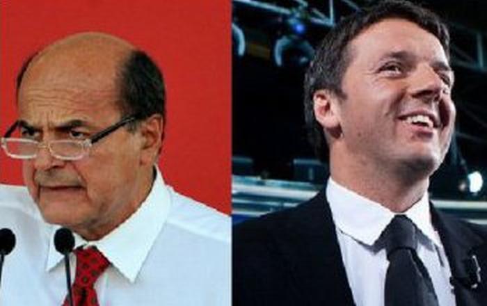 """Renzi e Bersani e """"Mission impossibile"""""""