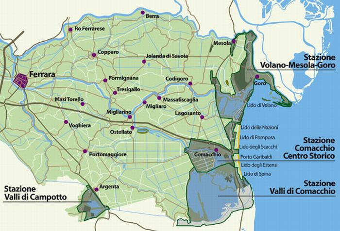 Legambiente in difesa del Parco del delta del Po