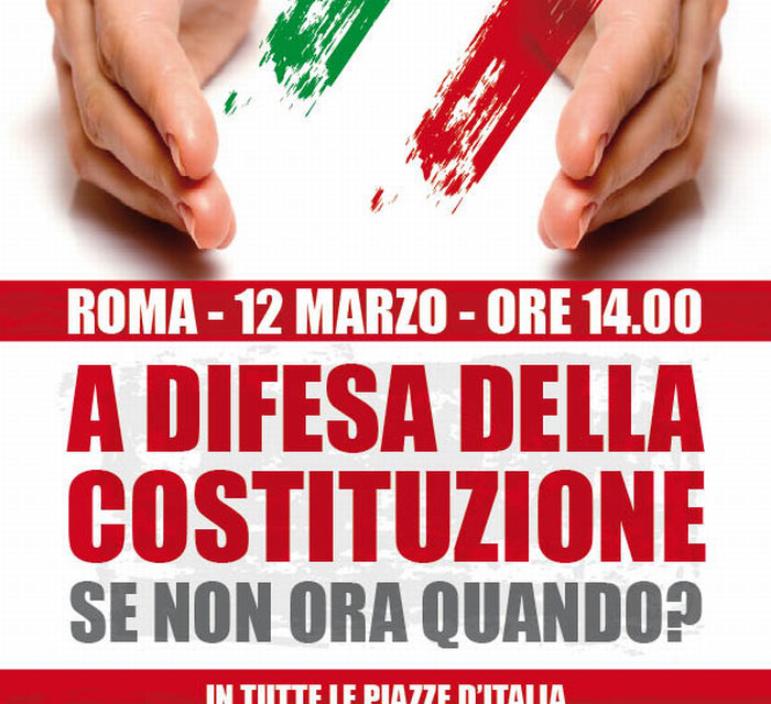 Flc-Cgil alle manifestazioni del 12 marzo